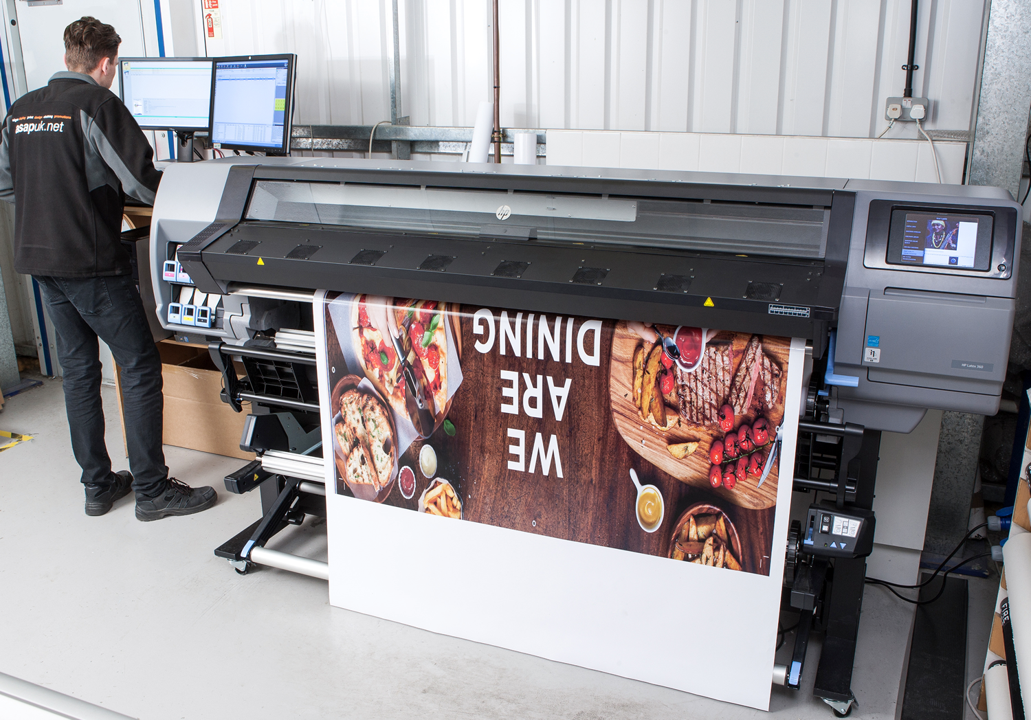 large format prints coral signs